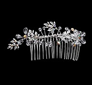 Women's Rhinestone/Crystal/Alloy Headpiece - Wedding/Special Occasion Hair Combs