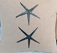 Estrellas de mar modelan agraciada almohada decorativa Con Insert