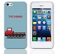 Il modello brillante Hard Case con 3 Paia protezioni per iPhone 5/5S