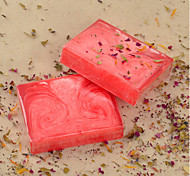 Natural Handmade Rose Essential Oil Soap 100g