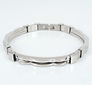 Fashion Shiny Stainless Steel Bracelet Unisex