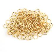 Durable Runde Gold-Legierung Haken 100 Stück / Beutel