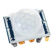 HC-SR501 Отрегулируйте пироэлектрический инфракрасный PIR движения модуль детектора ИК-датчик