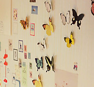 Vividly Butterfly Design Stickers(15 PCS,Random Color)