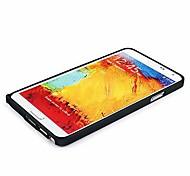 Für Samsung Galaxy Note Stoßresistent / Ultra dünn Hülle Hartschalenhülle Hülle Einheitliche Farbe Aluminium Samsung Note 3