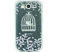 Birdcage Pattern Hard Case for Samsung Galaxy S3 9300