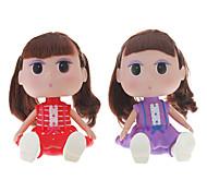 Petite fille ABS Toy bureau Doll (couleur aléatoire)