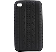 Vertebral Column Pattern Silicone Rubber Soft Case for iPod touch 4