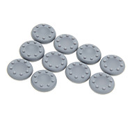 10 Pcs Thumbstick Grips for PS4 PS3 XBOX 360 XBOX One(Gray)