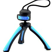 "Fotopro SY310 Mini Table Tripod for Digital Camera with 1/4"" Universal Screw Interface - Blue + Black"