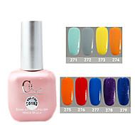 1PCS CH Soak-off Pink Bottle Astral Glitter UV Color Gel Polish NO.A21-A29(15ml,Assorted Color)