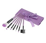7Pcs pinceau cosmétique costume-Violet