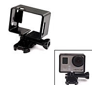 Universal Protective Side Frame w/ Screws + Push Buckle for GoPro Hero 3 / 3+