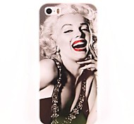 Marilyn Monroe Muster PC Hard Case für iPhone 5/5S