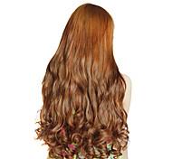 Resistencia a altas temperaturas de 20 pulgadas de largo ondulado 5 Clip de Extensión Hairpiece 4 colores disponibles