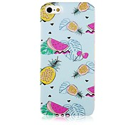 Fruit Pattern Silicone Soft Case for iPhone5/5s