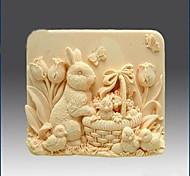 Coniglio forma Bake Mold, W8.1cm x L5.6cm x H3.3cm
