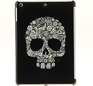 Flora Fashioned Skull Pattern PC Hard Case for iPad Air