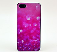 Pink Crystal Fragments Pattern Hard Case for iPhone 5/5S