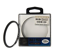 NISI 58mm MC UV Violet Protector Ultra-delgada Filtro lente recubrimiento multicapa de doble cara Ultra para Nikon Canon Sony Cámaras