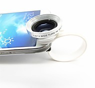 2 In 1 Universal C Style Clip 0.67X Wide Angle Add-On Lens with Macro Lens for iPhone/Cellphones