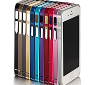 Ultra-thin Metal Frame for iPhone 4/4S(Assorted Color)