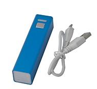 Premium Quality Case in metallo Box USB 2600mAh Banca di potere per Cellulari