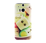 For HTC Case Pattern Case Back Cover Case Cartoon Soft TPU HTC