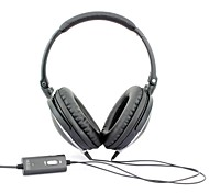 MEIEGO Portable Black DJ Headphones, Noise Cancelling Headphones