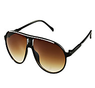 Unisex Elegant Black-Frame Sunglasses