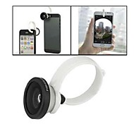 Clip universale Il Fisheye Lens per Iphone 5 5S / 4 / 4S + More