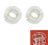 Jtron Outside Diameter 30mm Transparent Coil Skeleton / Inductance Skeleton  (2 PCS)