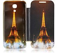 Eiffelturm Leder Ganzkörper-Case für Samsung Galaxy S4 Mini I9190
