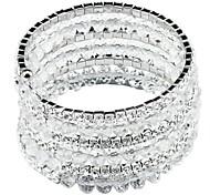 Claw chain Glass Bead Beaded Bracelet
