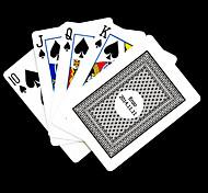 Regalo personalizzato Grigio Arrivo modello Playing Card per il Poker