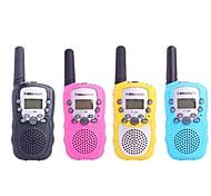 """Bellsouth T-388 de 0,5 W 1,0 """"LCD 5KM Walkie Talkie (4 x AAA)"""