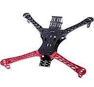 HJ MWC X-Mode Alien Multicopter Quadcopter Frame Kit in Black and Red
