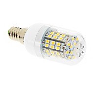 Bombillas LED de Mazorca T E14 7W 60 SMD 2835 550-680 LM Blanco Cálido AC 100-240 V