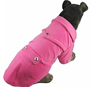 New Cotton Soft Rose Coat for Dogs and Pets