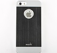 Double Color Fashion Metal Plastic Hard Case for iPhone 5/5S(Assorted Colors)