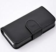 cru étui en cuir de luxe pour iphone 5 / 5s