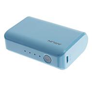ARUN Y20 4500mAh externe batterij voor Mobile Device (Blauw)