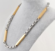 Fashion Titanium Steel The Great Well Chain Necklace