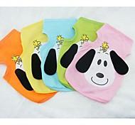 Dog T-Shirt - S / M / L / XL - Summer - Green / Blue / Pink / Yellow / Orange Cotton