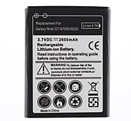 Замена 2600mAh батарея для Galaxy Note GT-N7000/i9220