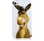Cartoon Donkey Silicone Soft Case for iPhone5/5S