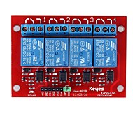 .Brand new and high quality 4-Channel Relay Shield Module for (For Arduino)