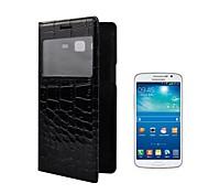 Angibabe la caja del cuero del cocodrilo de la PU para Samsung Galaxy Gran 2 G7106