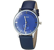 Women's Business Style Leather Band Quartz Wrist Watch (Assorted Colors)
