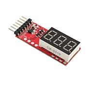 Новый RC Напряжение батареи Lipo метр Индикатор 2-6 Клетки Светодиодные